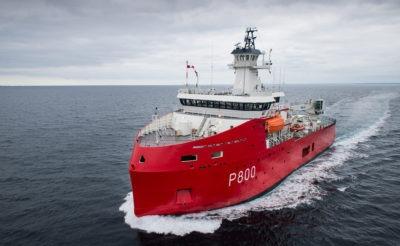 Navire logistique polaire - 72 m