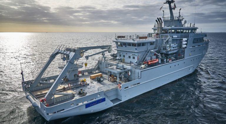 Navire hydro-océanique multi-missions - BHO2M