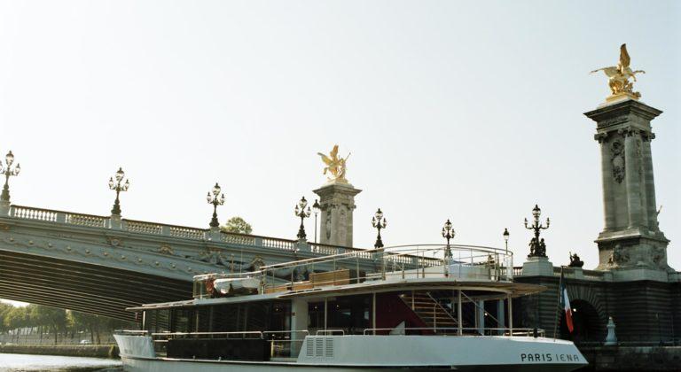 Vedette de promenade fluviale 249 passagers
