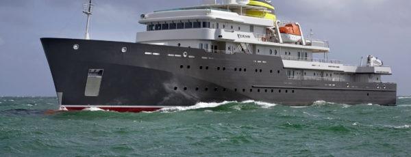 Livraison du Yersin, navire d'expédition