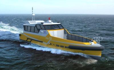Crew Boat Ultra Rapide - 30 personnes - 4 t
