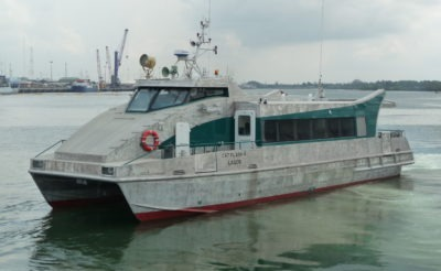 Crew Boat – Catamaran – 40p