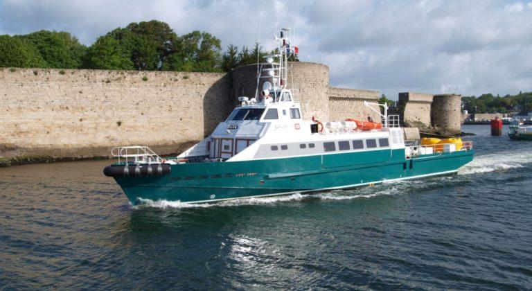 Crew Boat – Full Pax – 90p